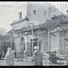 Postales: ANTIGUA POSTAL DE TETUAN. BARRIO MORO. AÑO 1928. Lote 32688985
