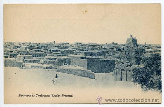 MALI. PANORAMA DE TOMBOUCTOU (SOUDAN FRANÇAIS) (Postales - Postales Extranjero - África)