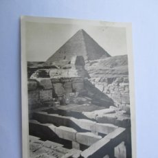 Postales: CAIRO THE SPHINX TEMPLE - POST CARD EGYPT. Lote 33569220
