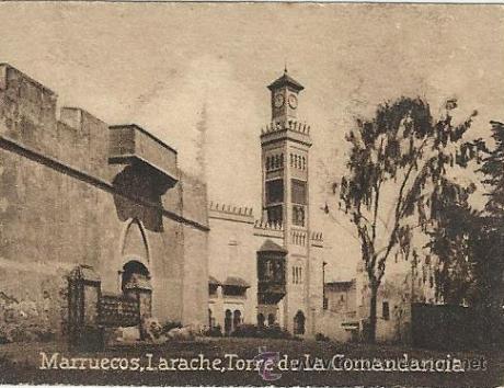 POSTAL ORIGINAL DECADA DE LOS 30. LARACHE Nº 1468. VER TAMAÑO Y EXPLICACION. (Postales - Postales Extranjero - África)