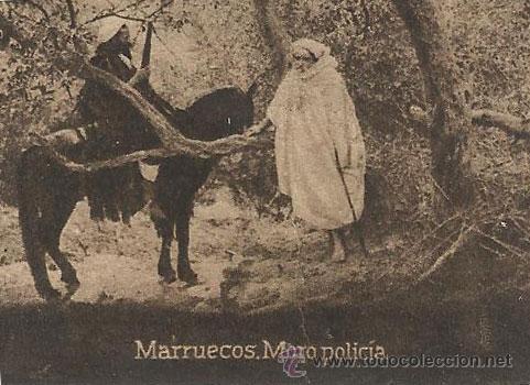 POSTAL ORIGINAL DECADA DE LOS 30. MARRUECOS Nº 1483. VER TAMAÑO Y EXPLICACION. (Postales - Postales Extranjero - África)