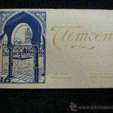 Postales: TARJETAS POSTALES. TLEMCEN. EDITION DESBOSNETS. PARIS. 24 T.P. AÑOS 30.. Lote 33794205