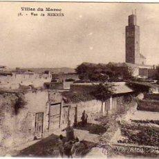 Postales: VILLES DU MAROC. 38 VUE DE MEKNES. SIN CIRCULAR.. Lote 33919976