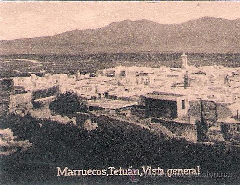 POSTAL ORIGINAL DECADA DE LOS 30. MARRUECOS. Nº 1455. VER TAMAÑO Y EXPLICACION. (Postales - Postales Extranjero - África)