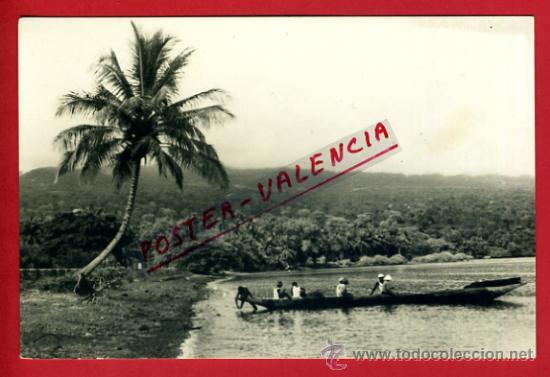 POSTAL GUINEA, PLAYA DE GUINEA CONTINENTAL, P72539 (Postales - Postales Extranjero - África)