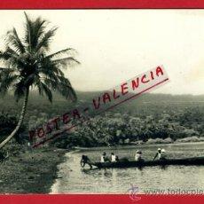 Postales: POSTAL GUINEA, PLAYA DE GUINEA CONTINENTAL, P72539. Lote 34215901