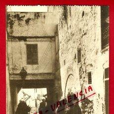 Postales: POSTAL TETUAN, MARRUECOS, UNA CALLE DEL BARRIO MORO, P72723. Lote 34247621