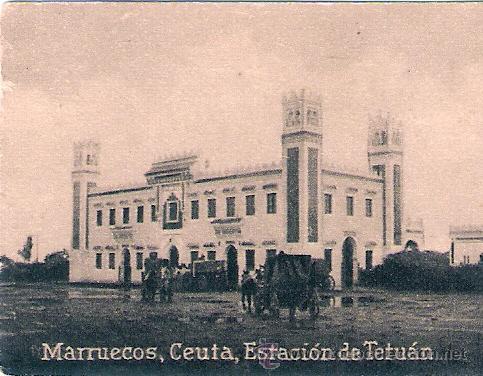 POSTAL ORIGINAL DECADA DE LOS 30. MARRUECOS. Nº 1450. VER TAMAÑO Y EXPLICACION. (Postales - Postales Extranjero - África)