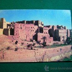 Postales: POSTAL DE MARRUECOS QUARZAZATE KASBAH DE AIT OURIR 1988. Lote 35266619