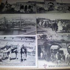 Postales: LOTE 12 POSTALES ANTIGUAS TÁNGER MARRUECOS - NO CIRCULADAS. Lote 35695791