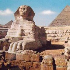 Postales: EGIPTO-V10-NO ESCRITA-KHEPHREN PYRAMIDE. Lote 36045546