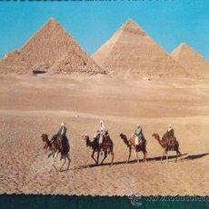 Postales: EGIPTO-V10-NO ESCRITA-KAMEL KARAVANNE. Lote 36045563