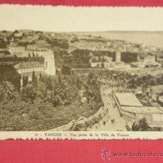 Postales: POSTAL TANGER VUE PRISE DE LA VILLA DE FRANCE ESCRITA 1935 SIN SELLAR VISTA DEL CHALET FRANCIA. Lote 36273429