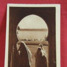 Postales: RABAT VISION MAROCAINE AUX OUDAYAS ESCRITA 1935 SEPIA PHOTO FLANDRIN. Lote 36273522