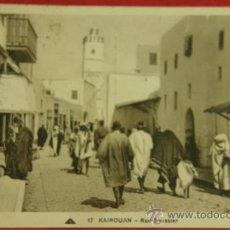 Postales: KAIROUAN KAIRUÁN TÚNEZ CIRCULADA ED. RUE SAUSSIER CIE DES ARTS PHOTOMÉCANIQUES 1923 . Lote 36274120