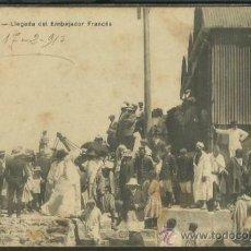 Postales: MARRUECOS. LARACHE Nº 55. LLEGADA DEL EMBAJADOR FRANCÉS. ESCRITA EN 17-02-1913. . Lote 36555138