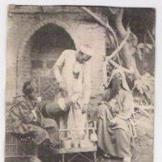 Postales: EL CAIRO-EGIPTO-CAFETERO AMBULANTE DE 1905. Lote 36778141