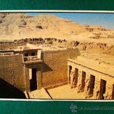 Postales: LUXOR - HABU TEMPLE - EGYPT - EL CAIRO - EGIPTO - POSTAL SIN CIRCULAR - DECADA 1980. . Lote 36844417