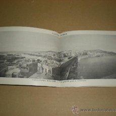 Postales: ANTIGUO ALBUM 24 VISTAS DE ALGER 1ª EDICIÓN AÑO 1910-20S. Lote 37189956
