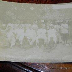Postales: ANTIGUA FOTOGRAFIA DE GUINEA ECUATORIAL, MILITARES ESPAÑOLES Y TRABAJADORES DE LA COLONIA ESPAÑOLA, . Lote 37408019