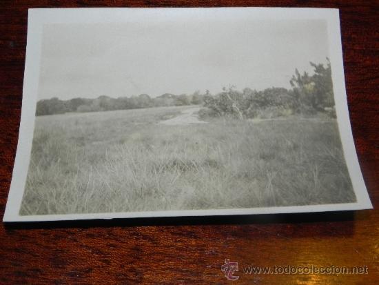 ANTIGUA FOTOGRAFIA DE GUINEA ECUATORIAL, COLONIA ESPAÑOLA, MIDE 10,5 X 7,5 CMS. (Postales - Postales Extranjero - África)
