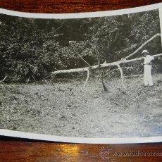 Postales: ANTIGUA FOTOGRAFIA DE GUINEA ECUATORIAL, COLONIA ESPAÑOLA, MIDE 10,5 X 7,5 CMS.. Lote 37440109