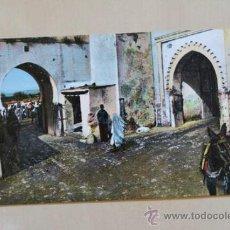 Postales: POSTAL. TETUÁN. PUERTA DE TÁNGER (INTERIOR).. Lote 38230835