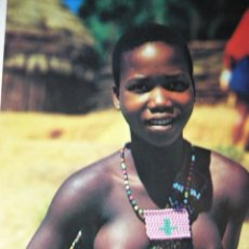 Postales: YOUNG ZULU GIRL. SOUTH AFRICA. NUDE. Nº 1064.. Lote 56178388