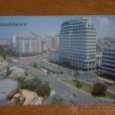 Postales: CASABLANCA. PLAZA DE LAS NACIONES UNIDAS. SIN CIRCULAR.. Lote 39095294