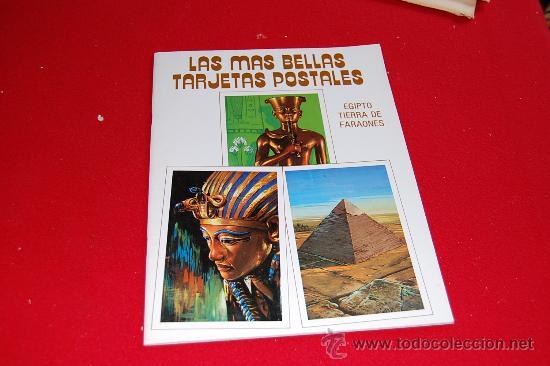 LAS MÁS BELLAS TARJETAS POSTALES, EGIPTO TIERRA DE FARAONES (Postales - Postales Extranjero - África)