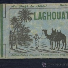 Postales: CUADERNO POSTALES LAGHOUAT ARGELIA SÉRIE 2 AU PAYS DU SOLEIL 10 POSTALES SIN CIRCULAR. Lote 39204359