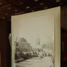 Postales: FOTOGRAFIA 25 X 20 CM. MERCADO. KASBAH. ARGELIA. COLECCIÓN A. M. TUNEZ. 38 KACHECHINE. Lote 39474691