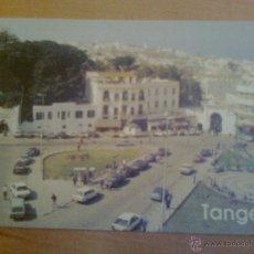 Postales: PRECIOSA POSTAL DE TANGER MARRUECOS MAROC INFINI VILLE PRESTIGIEUSE CREATEC 1992. Lote 39821463