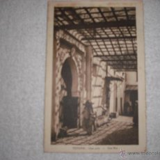 Postales: TETUAN . UNA CALLE. CIRCULADA 1933. Lote 39973935