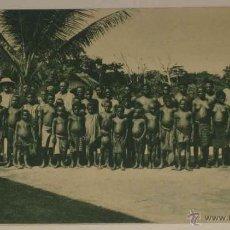 Postales: ANTIGUA POSTAL DE GUINEA CONTINETAL - PERSONAL DE UNA EXPLOTACION DE LA SOCOGUI- ED. PUBLICACIONES P. Lote 38256555