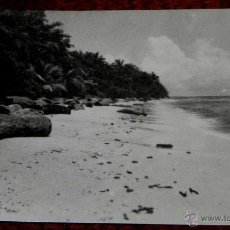 Postales: ANTIGUA FOTO POSTAL GUINEA ECUATORIAL ESPAÑOLA - 204. PLAYA DE CORISCO- FOTO CALIFORNIA, BATA - NO C. Lote 38267744
