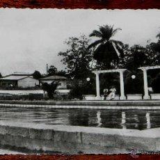 Postales: ANTIGUA FOTO POSTAL GUINEA ECUATORIAL ESPAÑOLA - BATA DETALLE DE LA PISCINA - FOTO CALIFORNIA, BATA . Lote 38267747