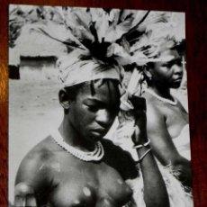 Cartes Postales: ANTIGUA FOTO POSTAL GUINEA ECUATORIAL ESPAÑOLA - MUJERES DEL LUGAR - NO CIRCULADA.. Lote 38267770