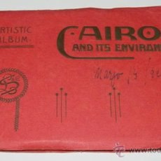 Postales: ANTIGUO ALBUM CAIRO AND ITS ENVIRONS - ARTISTIC ALBUM - EGYPT - AÑOS 20 - 24 VISTAS - MIDE 20 X 12,5. Lote 38267821