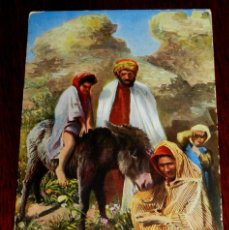 Postales: ANTIGUA POSTAL DE GRUPO DE MOROS, SERIE 1569 11, POSIBLEMENTE MARRUECOS, CIRCULADA.. Lote 38286681