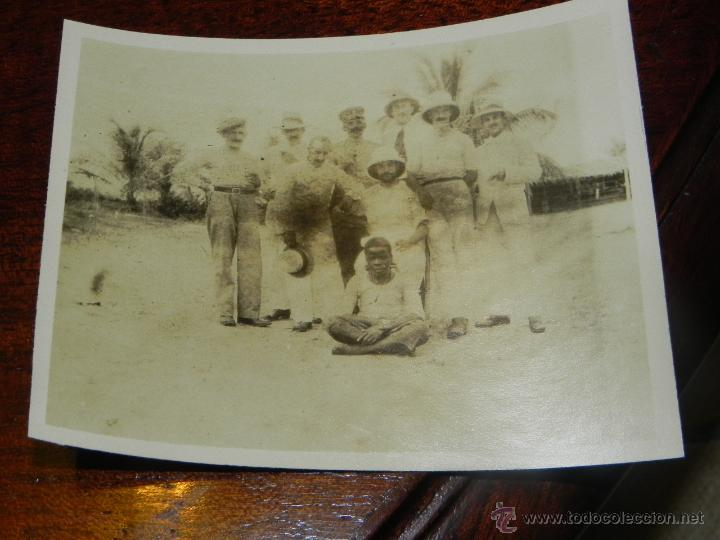 ANTIGUA FOTOGRAFIA DE GUINEA ECUATORIAL, COLONIA ESPAÑOLA, MIDE 11 X 8,5 CMS. (Postales - Postales Extranjero - África)
