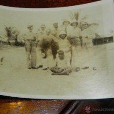 Postales: ANTIGUA FOTOGRAFIA DE GUINEA ECUATORIAL, COLONIA ESPAÑOLA, MIDE 11 X 8,5 CMS.. Lote 38288027