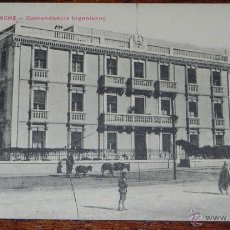 Postales: ANTIGUA POSTAL DE LARACHE (MARRUECOS) COMANDANCIA DE INGENIEROS, PROTECTORADO ESPAÑOL, FOTOGRAFO TAD. Lote 38288175