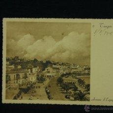 Postales: POSTAL TANGER CIRCULADA 5- 3 1948 AVENIDA DE ESPAÑA DESTINO MADRID. Lote 41107817