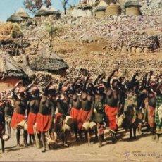 camerun - oudjila / zona norte - danza y musica - nueva - años 70 - rd12