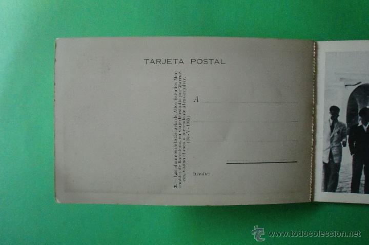 Postales: VIAJE DE ESTUDIO POR MARRUECOS ESCUELA DE ALTOS ESTUDIOS MERCANTILES BARCELONA CURSO1944 1945 - Foto 3 - 41280988