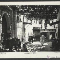 Postales: TETUAN - CALLE UXAA - FOTO CALATAYUD - (19012). Lote 41343010