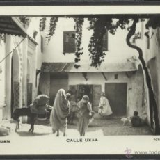 Postales: TETUAN - CALLE UXAA - FOTO CALATAYUD - (19021). Lote 41343196