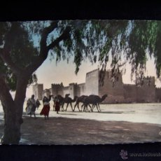 Postales: POSTAL FOTOGRÁFICA COLOREADA CIRCULADA 1953 CLICHÉ R.PROUHO SERIE Nº 1344 COLEC ARTÍSTICA L´AFRIQUE. Lote 41470895