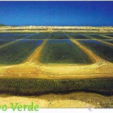 Postales: POSTAL: CABO VERDE. ILHA DO SAL. SALINAS DE STA. MARIA. Lote 41905039